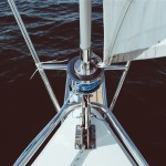 Front of a Sailboat
