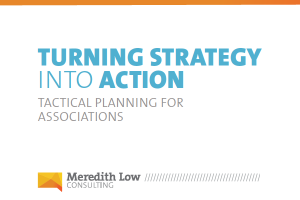 Tactical Planning for Associations